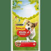 Bonzo Hondenvoer mini menu rund