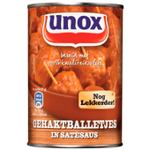 Unox Snackballetjes in satésaus