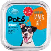 1 de Beste Hondenvoer paté lam kip