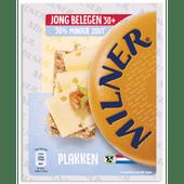 Milner Jong belegen minder zout 30+ plakken