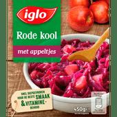 Iglo Rode kool met appel deelblokjes