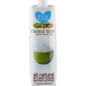 100% Sap Coconut grove natural coconut water
