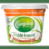 Campina Magere kwark met kokos