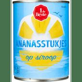 1 de Beste Ananasstukjes op siroop