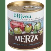 Merza Olijven gevuld met tonijn
