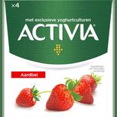 Activia Yoghurt aardbei 4 stuks