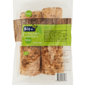Bio+ Pompoenbroodje 4 stuks