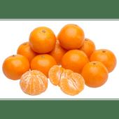 Grote mandarijnen verpakt