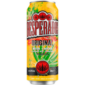 Desperados Tequila flavoured