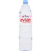 Evian Mineraalwater koolzuurvrij