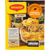 Maggi Ovenschotel zuurkool creme