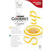 Gourmet Kattensoep kip 4 stuks