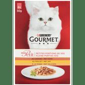 Gourmet Mon petit eend-kip-kalkoen 6 stuks