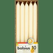 Bolsius Diner kaarsen ivoor