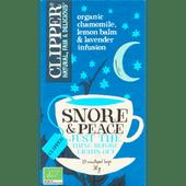 Clipper Snore & peace