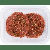 Runderhamburger jalapeno