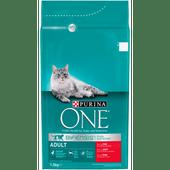 Purina One Kattenvoer adult rund & volkoren granen