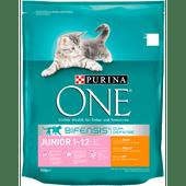 Purina One Kattenvoer junior kip & volkoren granen