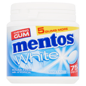 Mentos Gum white sweetmint