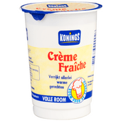 Konings Crème fraîche volle room 30% vet