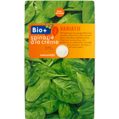 Bio+ Spinazie a la creme