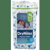 Huggies Luiers dry nites boy 4-7 jaar