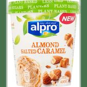 Alpro Almond salted caramel