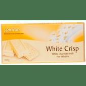 Karina Chocoladereep white crisp