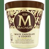 Ola Magnum pint white cookies