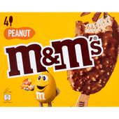 M&M's Peanut ice stick 4 pack