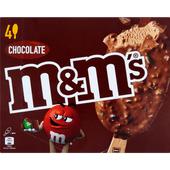 M&M's Chocolate ice stick 4 pack