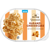 Hertog IJssalon karamel-cheesecake