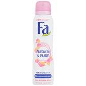 Fa Deospray natural & pure rose blossem