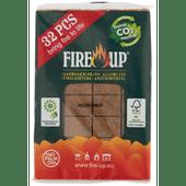 Fire-up Aanmaakblokjes bruin 32 stuks
