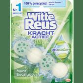 Witte Reus Toiletblok Pro nature munt eucalyptus