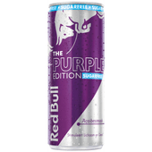 Red Bull Energydrink purple edition sugarfree