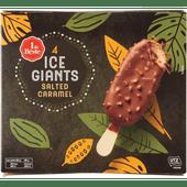 1 de Beste Ice giants salted caramel 4 stuks