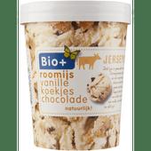 Bio+ Vanille roomijs koekjesdeeg-chocolade