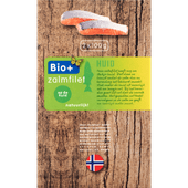 Bio+ Zalmfilet op huid 2 stuks