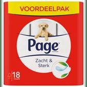 Page Toiletpapier zacht en sterk