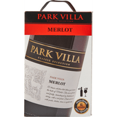 Park Villa Merlot bag in box