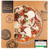 Verse pizza prosciutto crudo