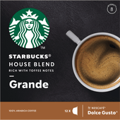 Starbucks Koffiecups dolce gusto house blend