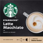 Starbucks Koffiecups dolce gusto latte macchiato