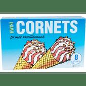Kwini Cornets vanille 8 stuks
