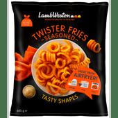 Lamb Weston Twister fries seasoned