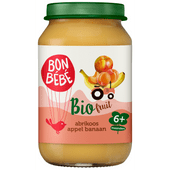 Bonbébé Fruithapje 6+ maanden abrikoos-appel-banaan