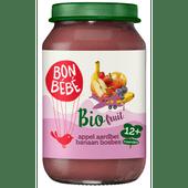 Bonbébé Fruithapje 12+ maanden appel-aardbei-banaan-bosbes