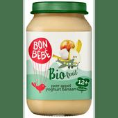 Bonbébé Fruithapje 12+ maanden appel-banaan-peer-yoghurt