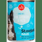 1 de Beste Hondenvoer stoofpotje lam-pasta-groenten